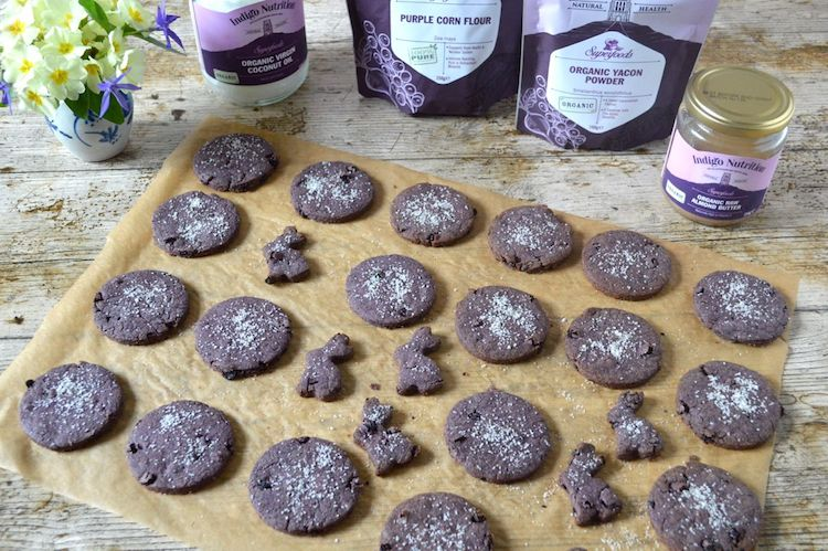 Vegan Easter Biscuits – Purple and Healthier Than Most
