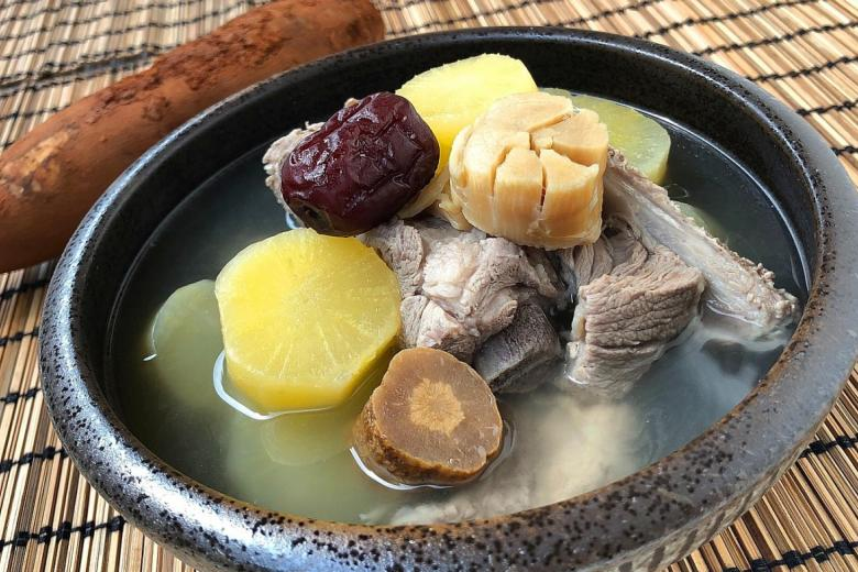 Yacon Pork Rib Soup