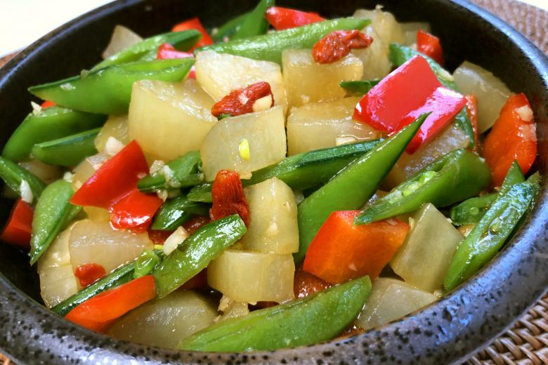 yacon stir fry recipe
