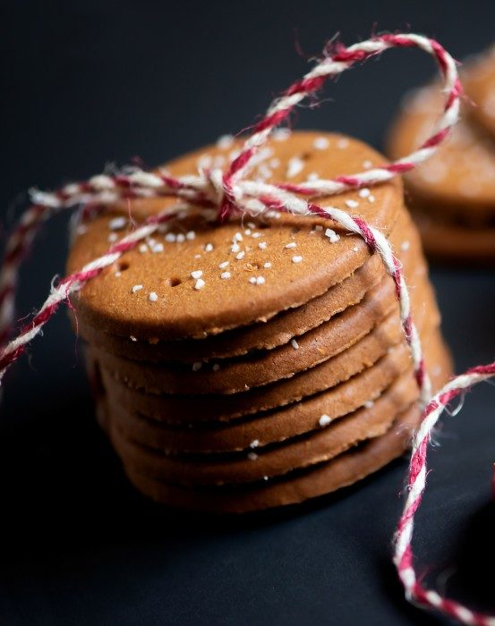 linseed yacon cookies with Yacon