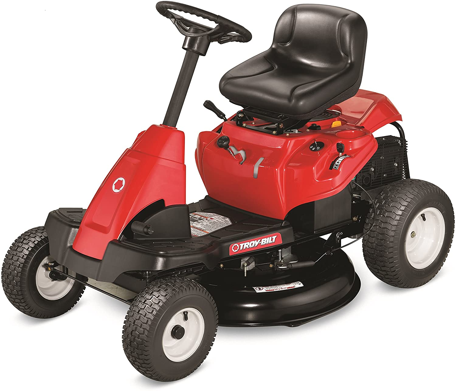 Troy-Bilt 382cc 30-Inch Riding Lawn Mower - A Review of the Best Cheap Riding Lawn Mowers in 2021