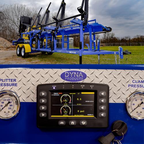 DYNA SC-15 Tandem Axle Firewood Processor (2020)