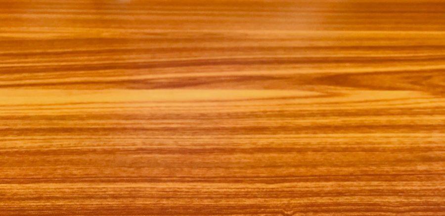 cherry wood grain closeup of honey stained cherrywood