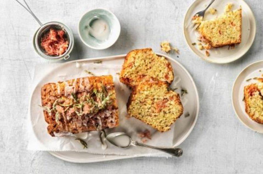 rosemary pomelo cake