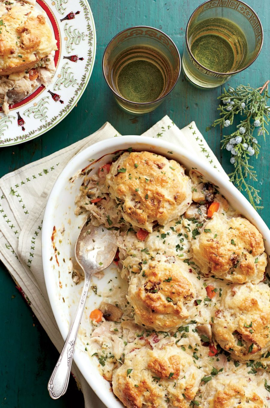 southern living chicken and biscuit cobbler