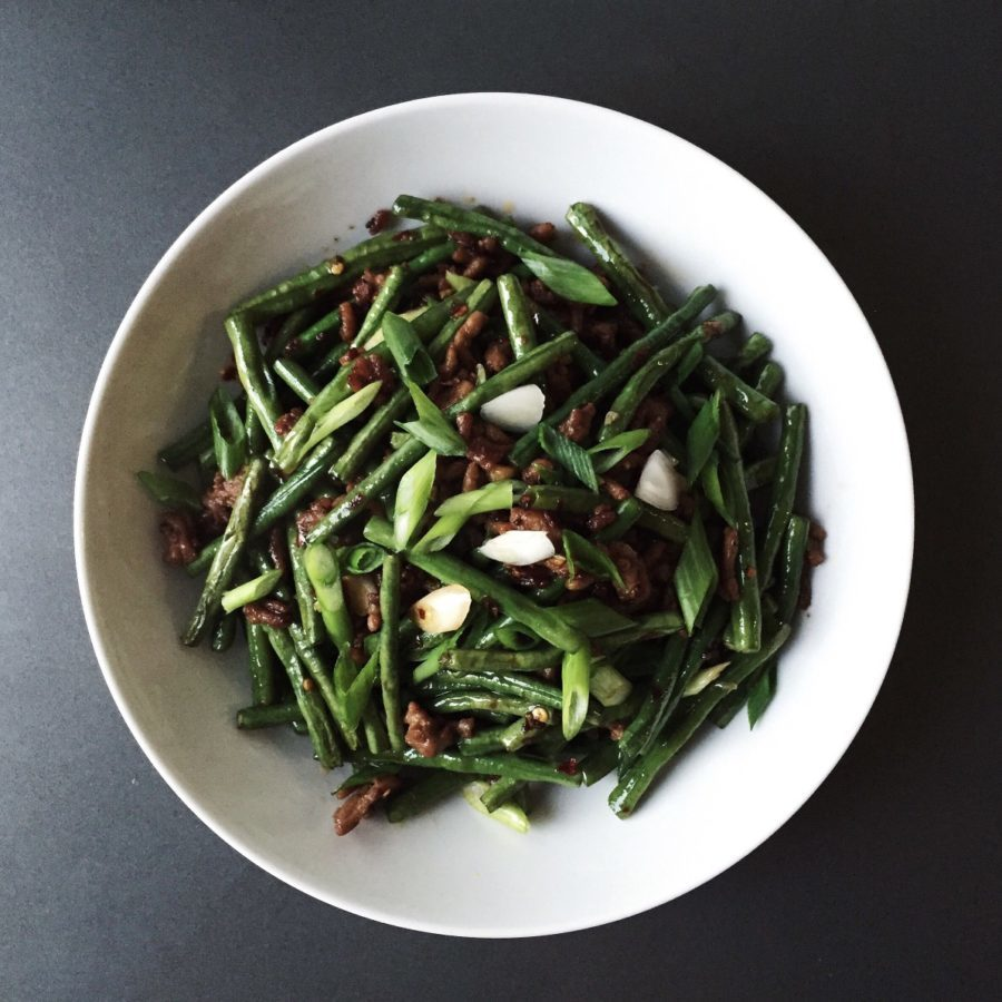 Yacon & Green Beans with SE Asian Flavors