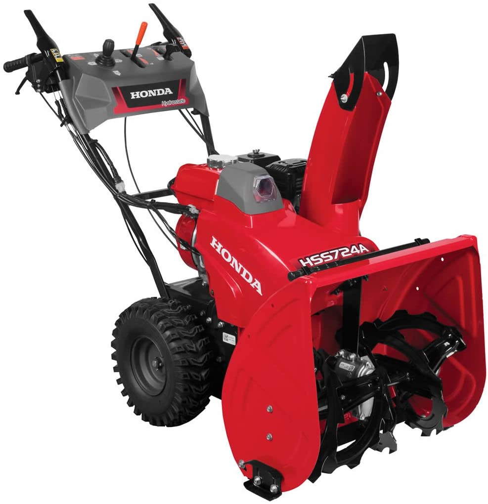 Honda HSS724AAWD Compact Two-Stage Snow Blower - The 5 Best Honda Snow Blowers Review