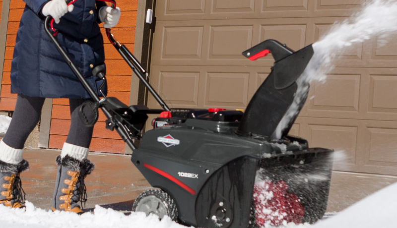 briggs and stratton in use snow blower reviews