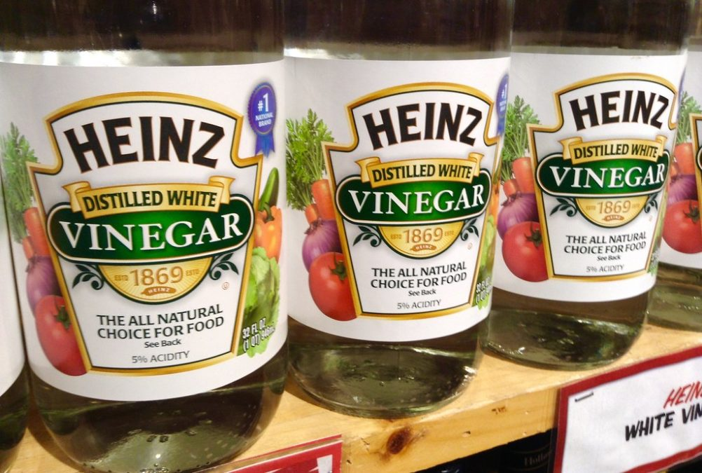 Heinz White Vinegar, 12/2014, Pic by Mike Mozart of TheToyChannel and JeepersMedia on YouTube.
