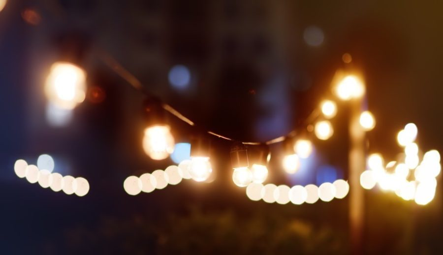 dripping with lights string lights outdoor christmas