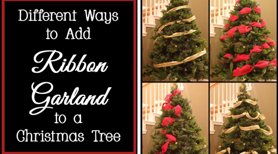 ribbon garland 8 ways wide