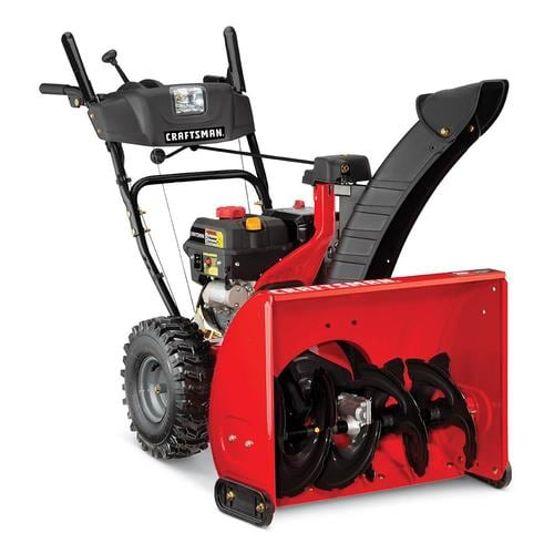 Craftsman SB450 26-in 208-cc Two-Stage Snow Blower - The Best Craftsman Snow Blowers to Stay on Top of the Snowfall