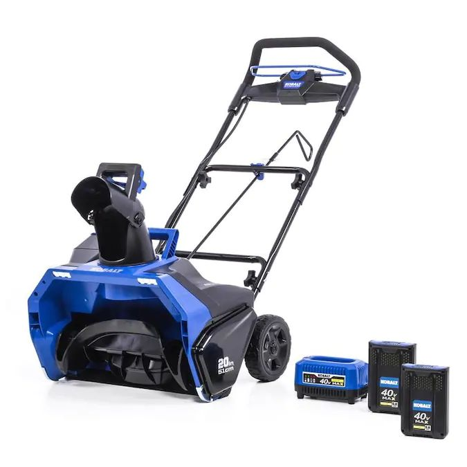 Kobalt 40-Volt Max 20-in Single-stage Cordless Electric Snow Blower - Find the Best Kobalt Snow Blower for Your Needs