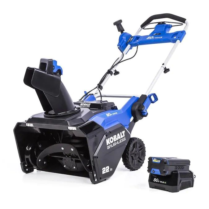 Kobalt 80-Volt Max 22-in Single-Stage Cordless Electric Snow Blower - Find the Best Kobalt Snow Blower for Your Needs