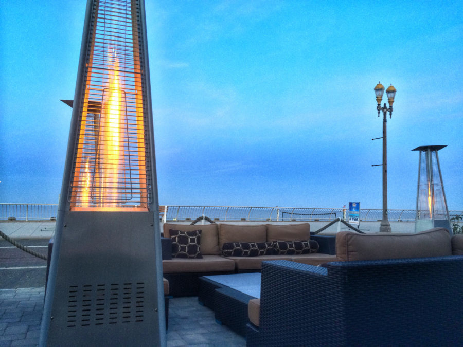 propane heater Fire by the Beach outdoors, water, travel, sky, beach, business, pier, fire, contemporary, beach & tropical