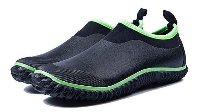JOINFREE Women's Rain Boots Men's Garden Shoes Low Short Shoes Ankle Car Wash Footwear Outdoor