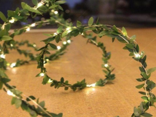 Leaf Garland String Lights