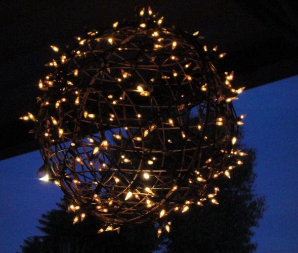Outdoor Fairy Light Globe