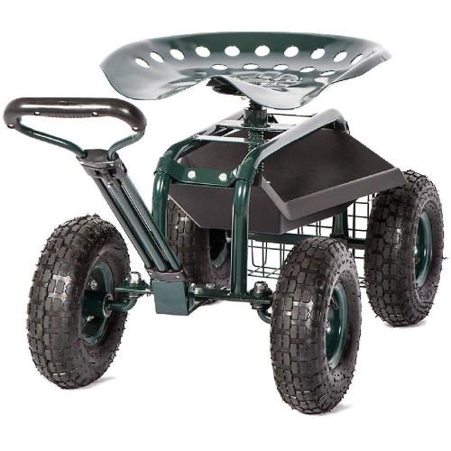 Kinsunny Garden Cart with Seat