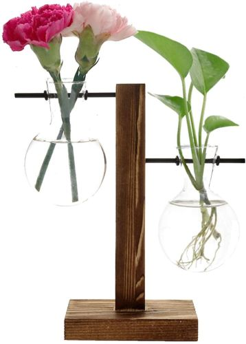 Feitore Glass Planter Bulb Vase