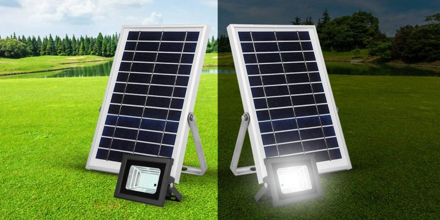 Solar Flood Light Day and Night