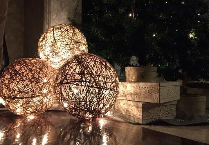 Twine Spheres Fairy Lights