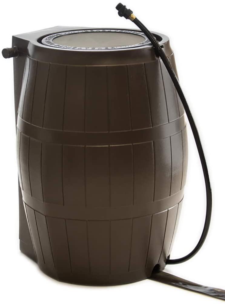 FCMP Outdoor RC4000-BRN Catcher 4000 Rain Barrel