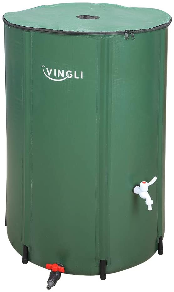VINGLI 100 Gallon Collapsible Rain Barrel