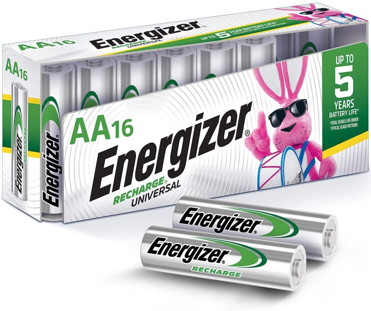 Energizer Rechargeable NiMH Batteries