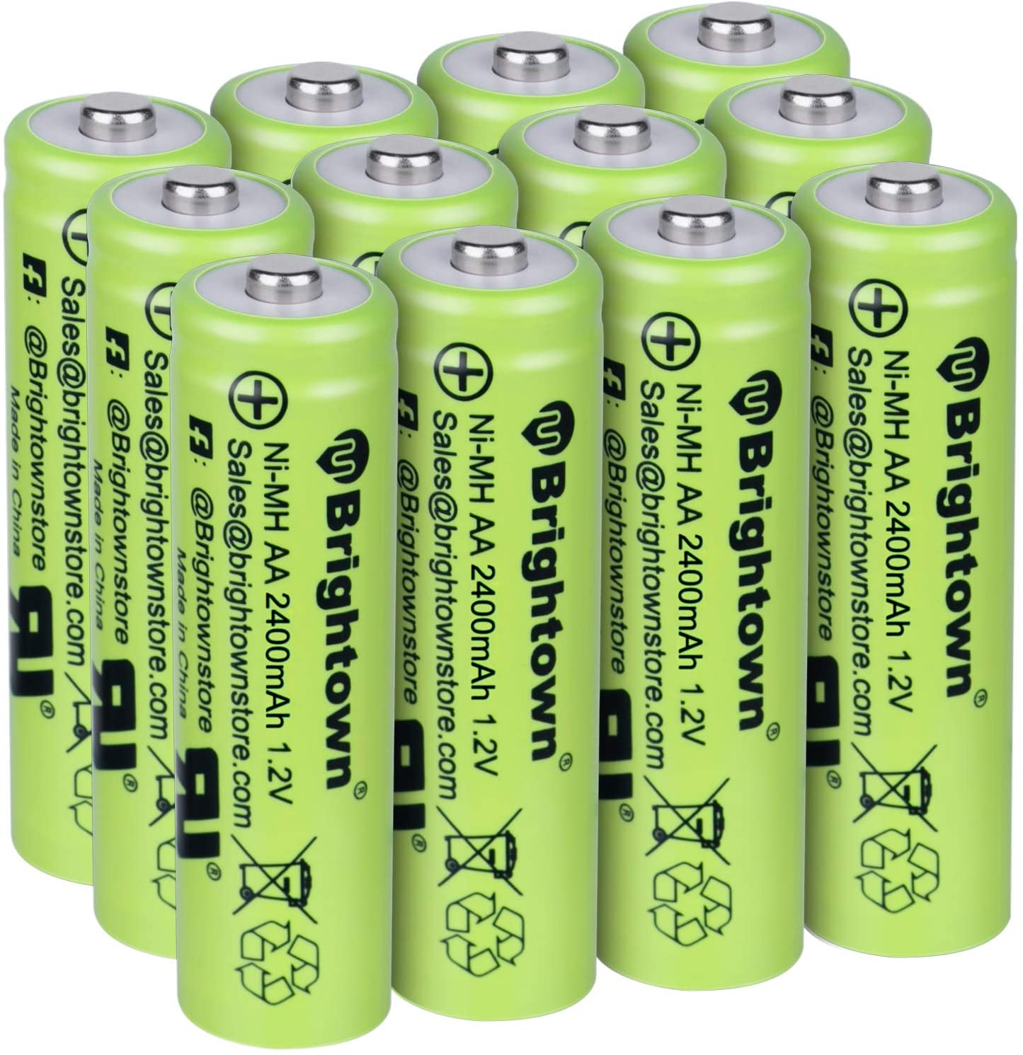 Brighttown NiMH Pre-Charged Batteries