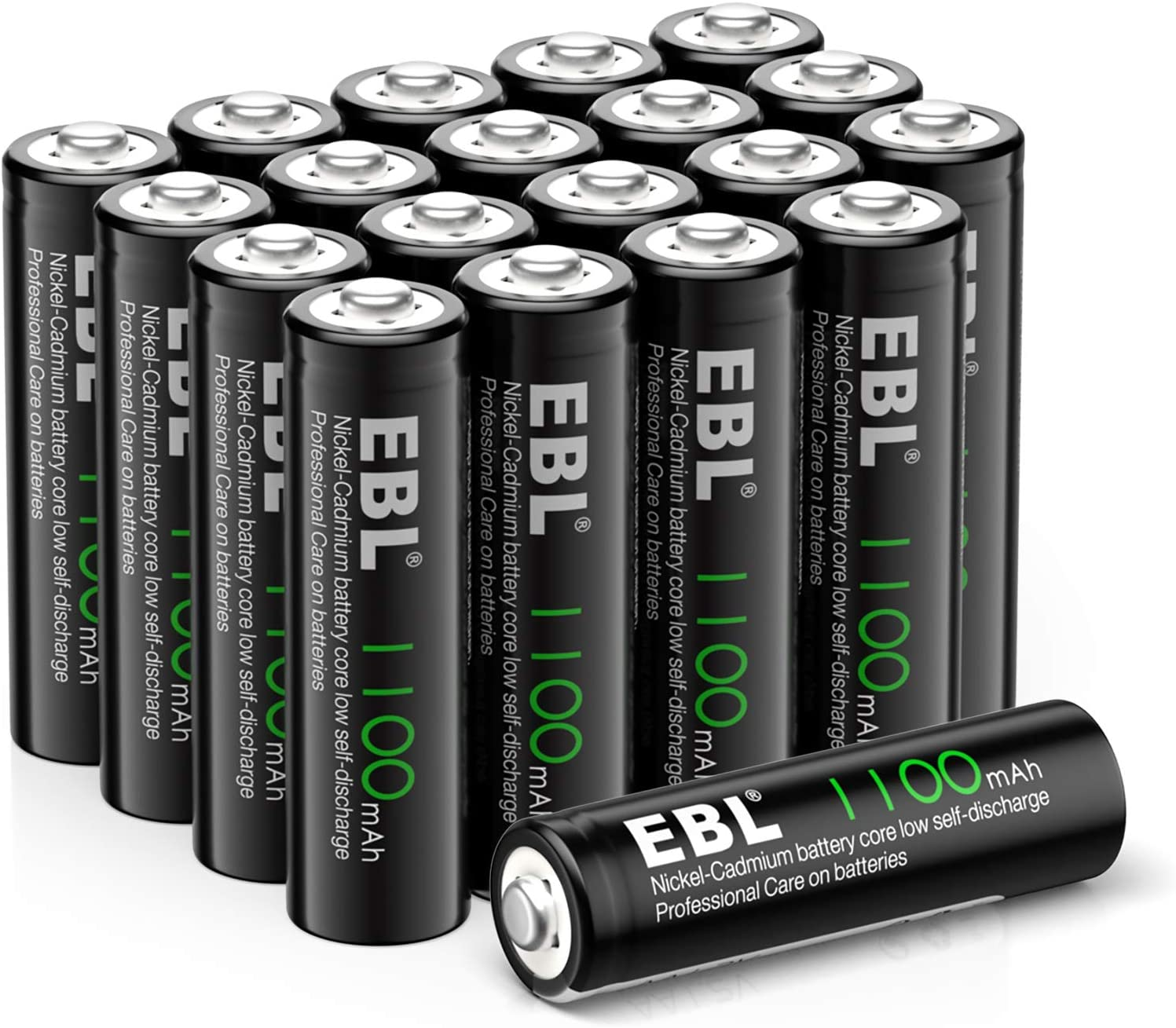 EBL NiCAD Rechargeable Batteries for Solar Lights