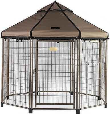 Advantek Pet Gazebo Dog Kennel