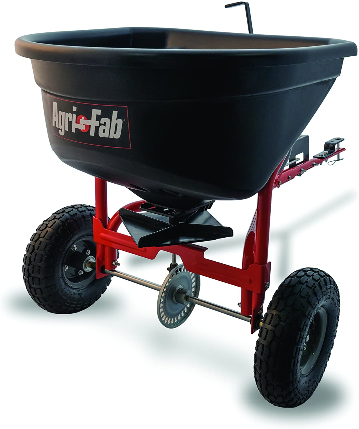 Agri-Fab 110lb Tow Style Broadcast Spreader