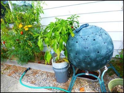 Ball Shaped Compost Tumbler