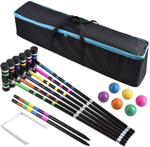 BroWill Croquet Set with Carrying Bag