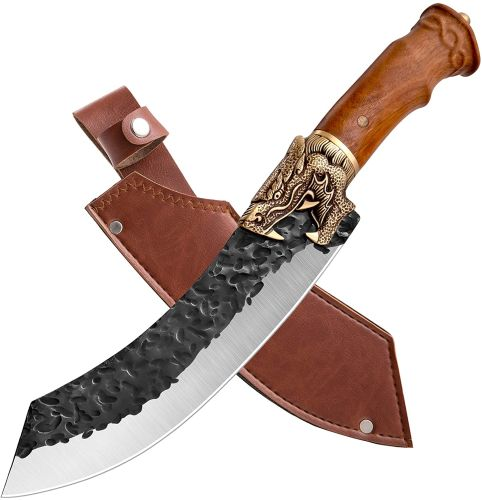 Butcher Knife Forged in Fire