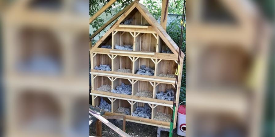 Hen Nesting House