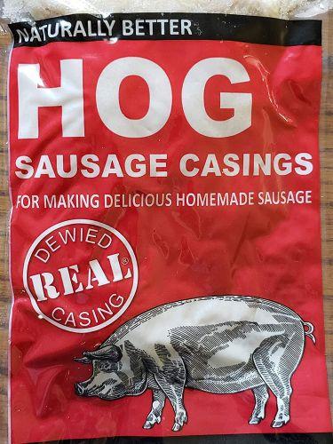 Natural Hog Pork casings for homemade sausage.