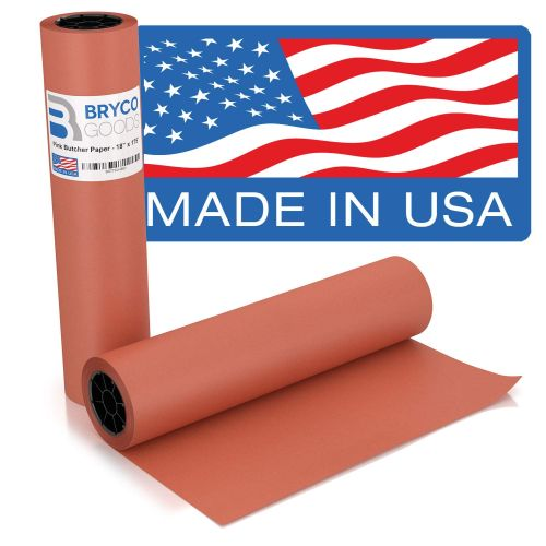 Pink Kraft Butcher Paper Roll