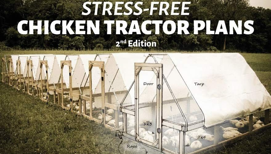 Book Cover for Chicken Tractor Plans
