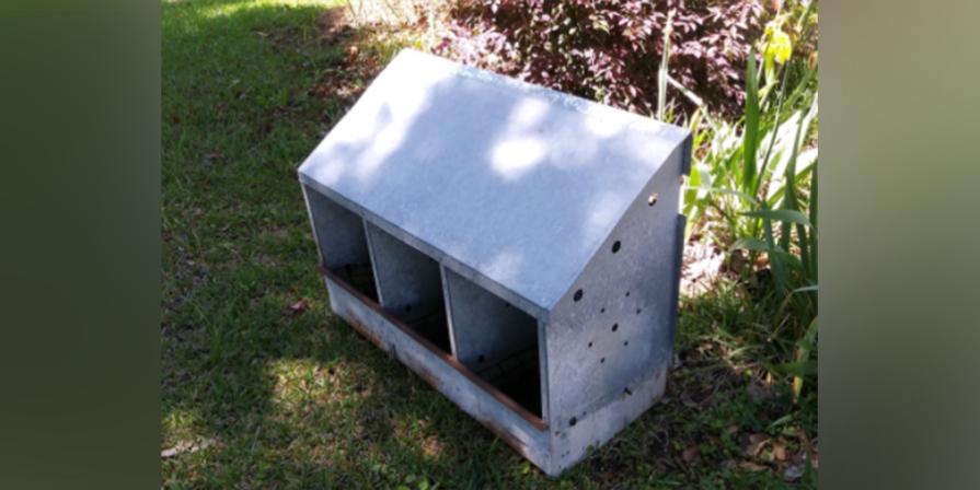 Vintage Chicken Hen Nest Box