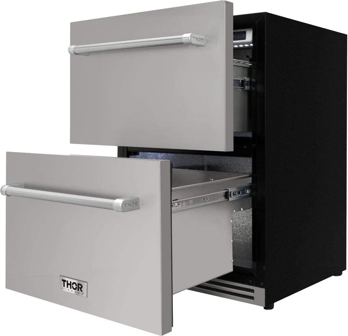 Thor Indoor/Outdoor Double Drawer Refrigerator