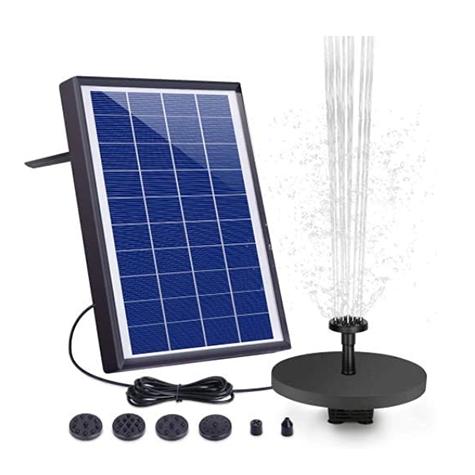 AISITIN 6.5W Solar Fountain Pump