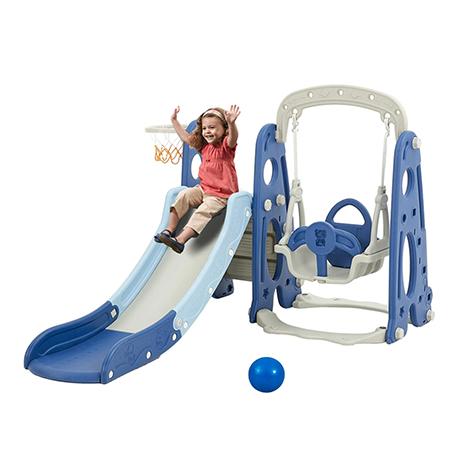 Albott Toddler Slide and Swing Set