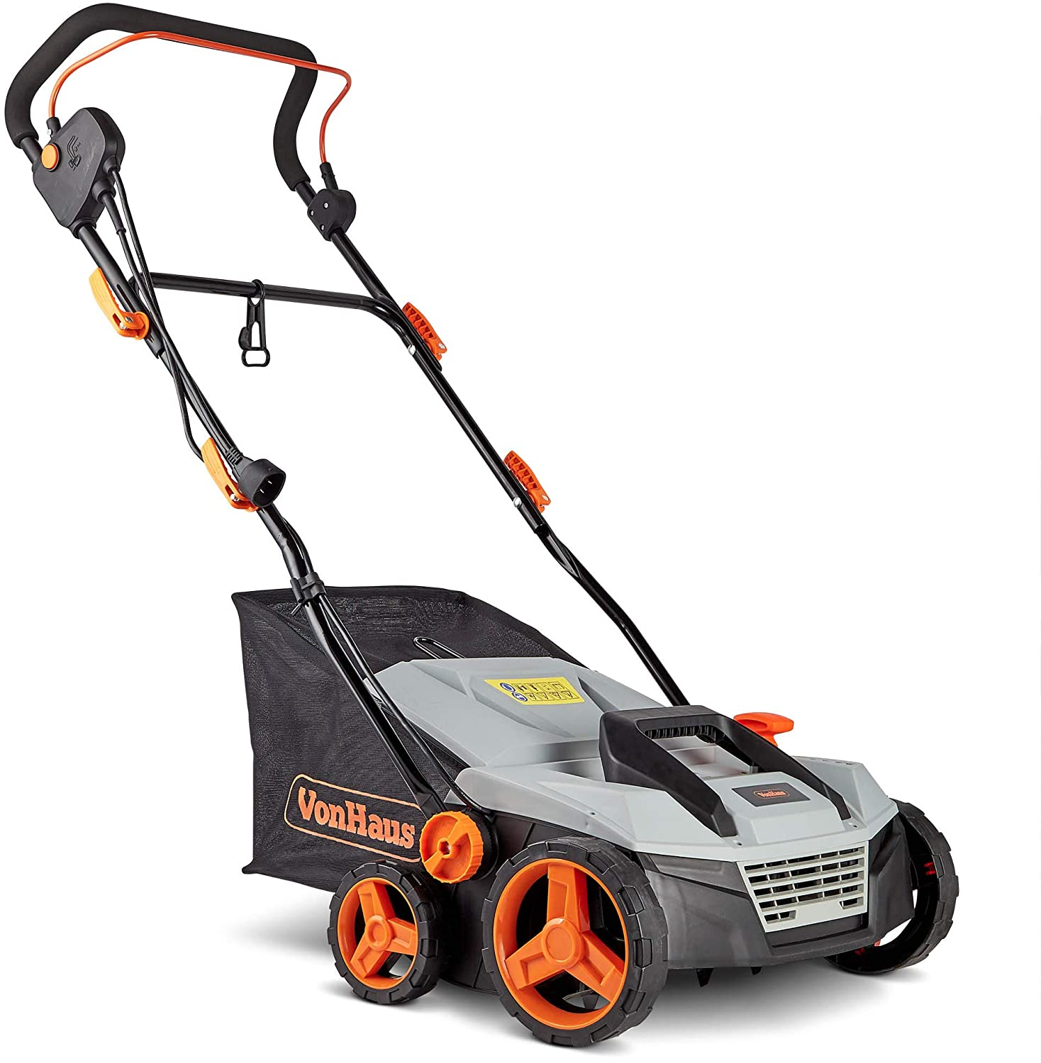 VonHaus Corded Electric 2-in-1 Lawn Dethatcher and Aerator