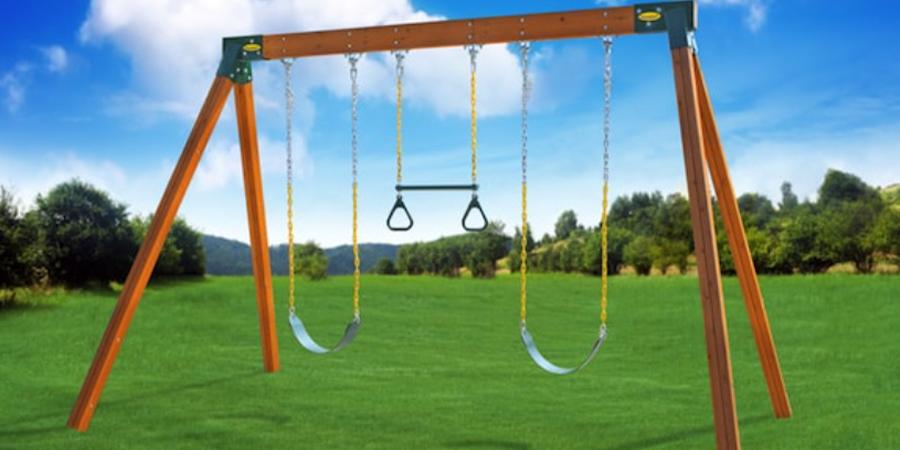Classic A Frame Swing Set