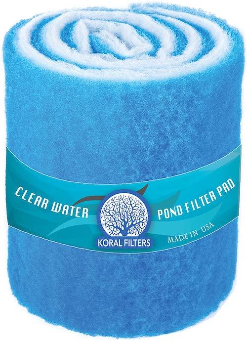 Koral Filters Pro - Best Pond Filter for Your Backyard Fish Pond