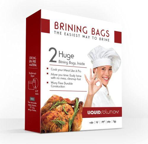 Liquid Solution Turkey Brining Bags