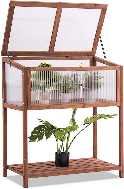 Mcombo Wooden Cold Frame