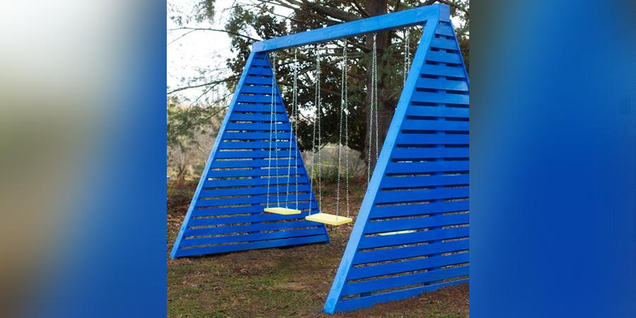 Modern Swing Set